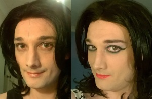 Four months ago I thought I look very feminine and pretty...now I know I do!