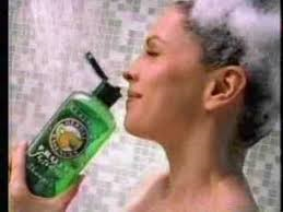 It seems very silly in real life but I really do this in the shower!