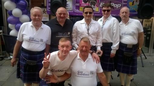 Gay Gordans - Scotland's finest!