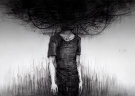 This wonderful image is a great representation of depression