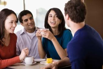 group-people-talking